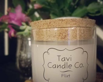Flirt Scented Soy Wax Candle