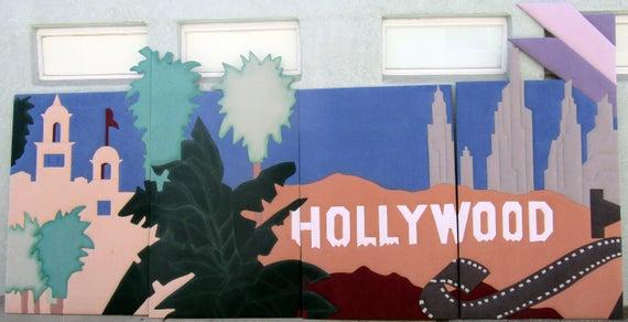 Huge Hollywood Sign or backdrop