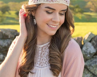 CROCHET PATTERN - Orchid Lane Bohemian Headband