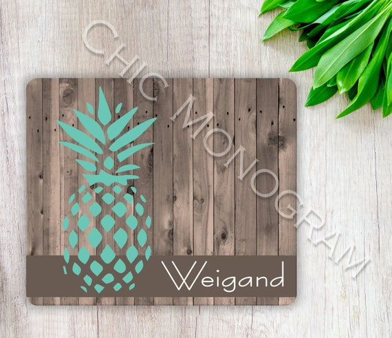 Gifts for Hostess Gifts for Mom Rustic Pineapple Trivet Mothers Day Personalized Hardboard Kitchen Hot Pad Table Protector Easter Gift
