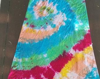Tie Dye Maxi Skirt - Women's LG