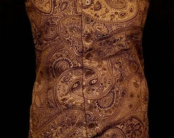 Long Style 17th Century Renaissance/Pirate Vest
