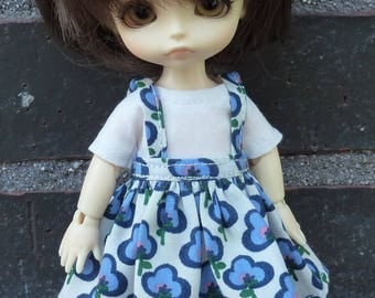 Outfit for Lati yellow and Pukifee dolls.
