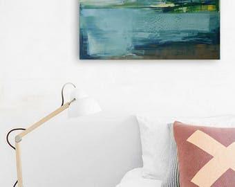 """Oil painting, canvas art, stretched, """"Landscape HO"""". Size (50/70cm)."""