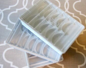 Lidded ELNA CAM BOXES Decorative Disc Storage Containers