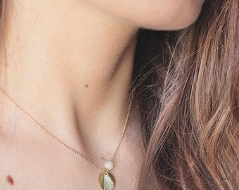 Paje gold filled necklace