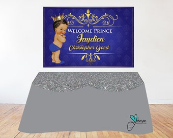 Royal Prince Caketable Banner