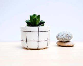 Scandinavian Ceramic plant pot, Ceramic planter, Succulent planter, Ceramics & pottery, Flower plant pot, Planter flower pot, Cacti planters