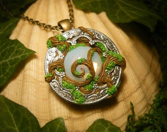 Soul of the sacred Forest - Made to Order - handsculpted Amulet OOAK