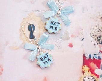 earrings eat me cookie