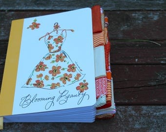 Blooming Beauty Altered Journal