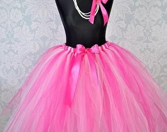 Fuchsia Adult Tutu, Full Adult Tutu Skirt, Long Tutu, Bridal Tutu Skirt, Women Tutu, Bridesmaid Tutu, Wedding Tutu, Prom Tutu, Girls Tutu