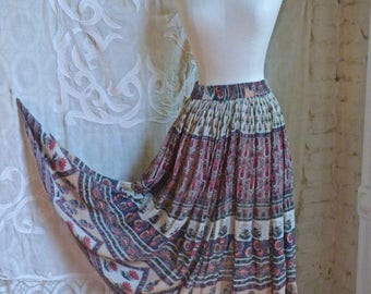 Indian Gauze Cotton Skirt