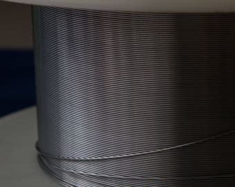 Pure Niobium Round Wire 0.8mm (20ga)