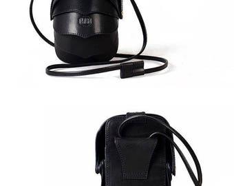 Small Black Purse, Cell Phone Bag, Small Black Leather Purse, Black Cross Body Bag, Black Crossbody Purse, Women Crossbody Bag, Mini Bag