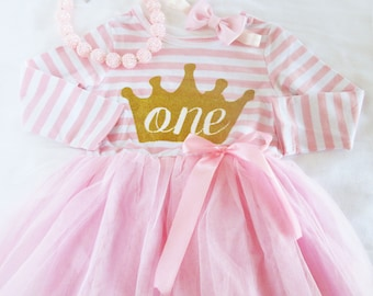 Baby Girl First Birthday Outfit-1st birthday dress- baby dress- first birthday dress- birthday dress- 1st birthday outfit-tutu dress