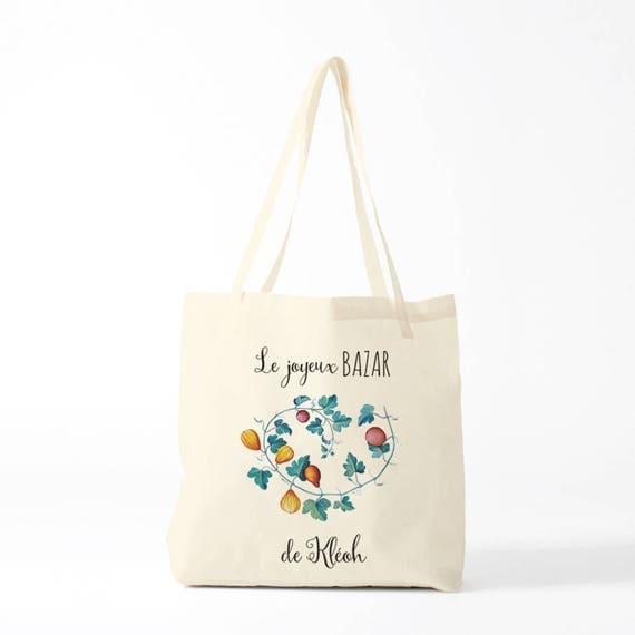 Custom Bag, Name bag, Replace Kléoh by your name, school bag, child's bag.