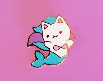 Mermaid Cat Enamel Pin