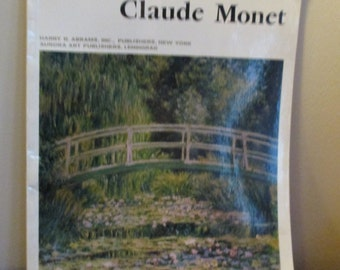 Vintage Claude Monet Masters of World Painting works of Monet in Soviet Museums
