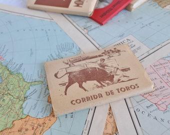 """Block of souvenir photos of the Spanish """"Corrida de Toros"""""""