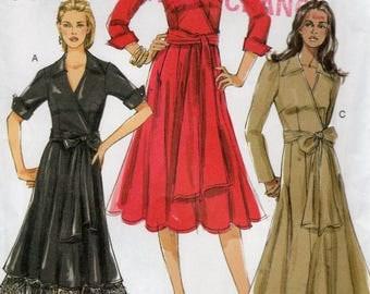 Vogue V8315, Misses' Dress Pattern, FW Sizes 18-20-22, Unused Vogue Pattern