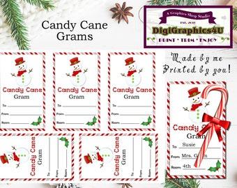 Christmas candy cane gram template - Top home recipes 2018