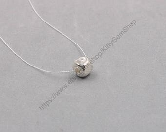 10mm Sterling Silver Handmade Cube Beads -- 925 Silver Charms Wholesale For Bridesmaid Gift Party XXSP-S0649,YHA