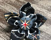 Bow Tie or Flower Collar Attachment & Accessory for Dogs and Cats / Las Vegas KNIGHTS Hockey Team