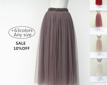 On sale ,Summer women tulle skirt dress, adult tulle skirt women's tutu