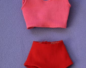 Vintage (Barbie) Brunette Midge Original Swimsuit, Near Mint