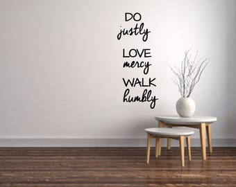 Scripture Wall Decal | Etsy Part 79