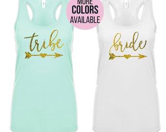 Bridesmaid Shirts, Bachelorette Party Shirts, Bride Shirts, Team Bride Shirts, Bridal Party Shirts, Bride Tanks, Bridesmaid Tanks