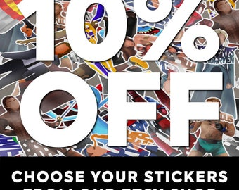 Any 2 Stickers of Your Choosing and Save 10%