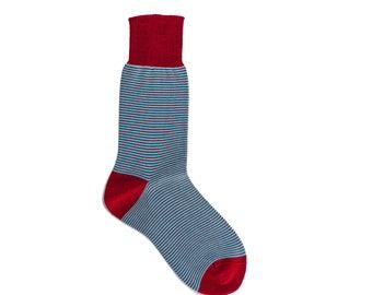 New Season Women's Striped Red Casual Socks