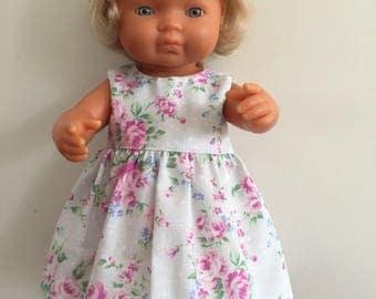 Floral on Mauve Summer Dress