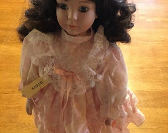 "16"" Porcelain Doll Her name is Sarah"