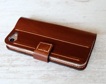 Leather iPhone 7 case, iPhone 7 wallet case, iphone 7 leather wallet case, iphone 7 leather case, iPhone 7 case wallet