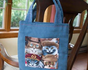 Crazy Cats Handbag