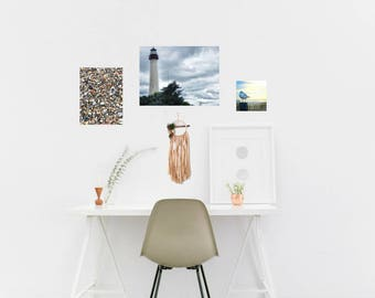 Cape May Lighthouse Metal Print / Shadow Mounted Easy Hanging No Framing Necessary / Aluminom Wall Art Camp May New Jersey