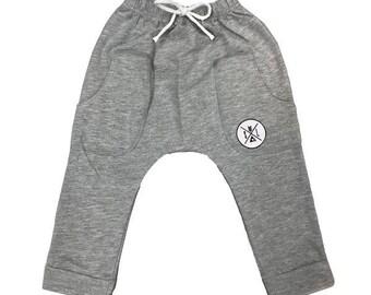 Logo Harem Children's Pants