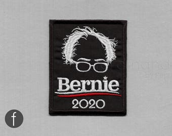 Bernie 2020 Iron On Patch