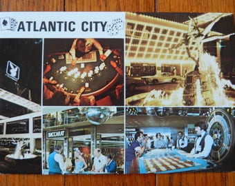 Vintage 80's Postcard Atlantic City Playboy Hotel & Casino New Jersey
