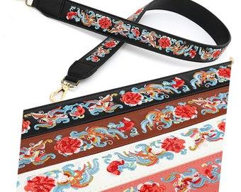 108 cm length 4cm width  Bag Strap true leather Removable Purse Strap Interchangeable Strap Replacement Handle  SS006