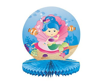 1/ My Sweet Mermaid and friends Centerpiece / mermaid theme / little mermaid/ girls party
