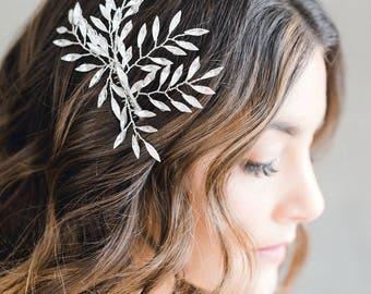 Bridal Hair Comb, Wedding Hair Comb, Rhinestone Hair Comb, Crystal Headpiece, Bridal Headpiece, Wedding Headpiece -Style 326-Cicilia