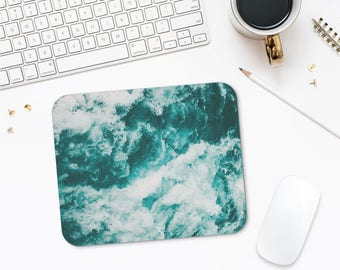 Water Texture Photo Mousepad, Cool Mouse Pad, Photo Mouse Mat, Modern Mousepad, Abstract Mousepad, Mousepad Gift
