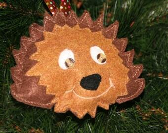Hedgehog Ornament - Hedgehog Lover Gift - Hedgehog Decor - Christmas Ornament - Hedgehog Gift - Hedgehog Christmas gift - Tree decoration