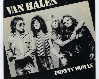 Van Halen - (Oh) Pretty Woman / Happy Trails - 45rpm - 1982