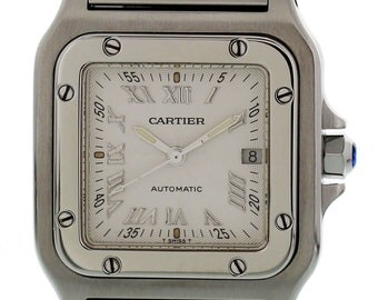 Cartier Santos Galbee Stainless Steel 2319 Automatic
