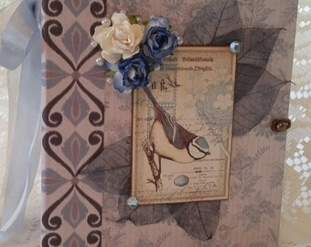 Handmade Scrapbook Photo Album, Mini Album, Memory Book, Photo Album